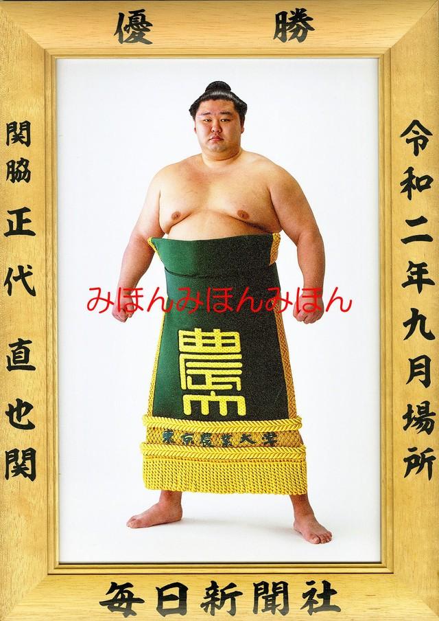 令和元年5月場所優勝 前頭 朝乃山英樹関(初優勝)