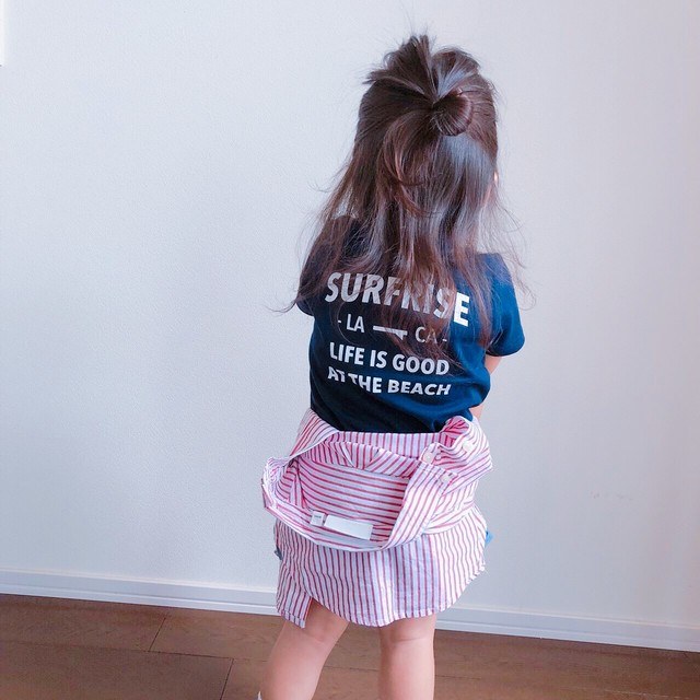 ★Kids★ LIFE IS GOOD Tee - Navy