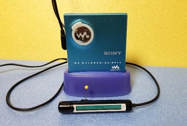 MDポータブルプレーヤー SONY MZ-E510-B MDLP対応 再生良好★☆♪