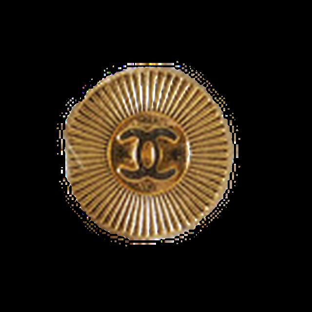 【VINTAGE CHANEL BUTTON】ゴールド ココマーク ボタン 1.7mm C-20013