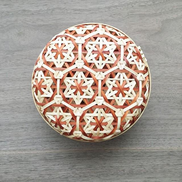 台湾製の編みかご(小)