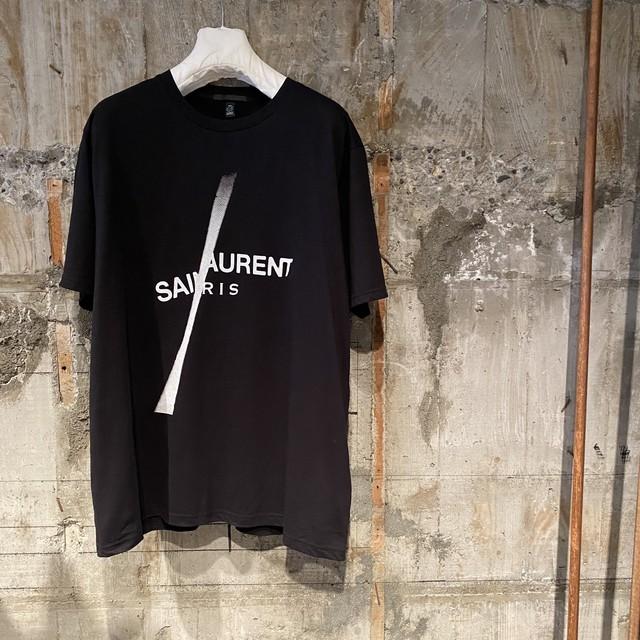 BLACK SCORE【ブラックスコア 】SAINT SLASH  Tシャツ(BLACK).