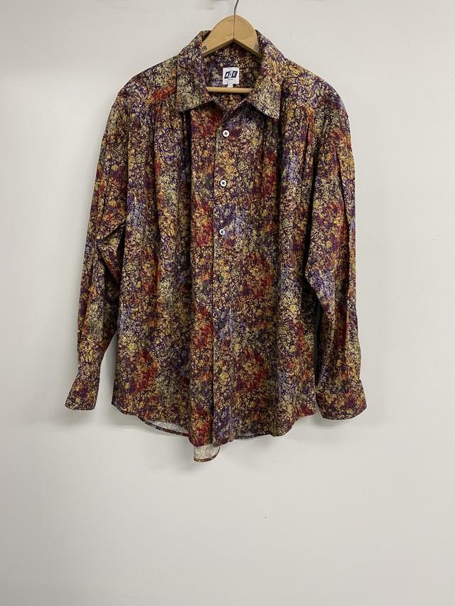 AiE  / Painter Shirt -Marble Batik Print (multi)