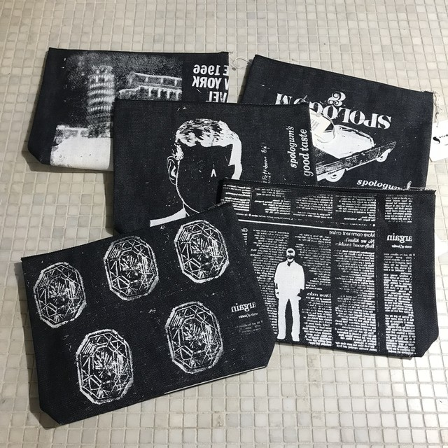 "【SALE ""アトリエ市""】Spologum / Pouch(big)"