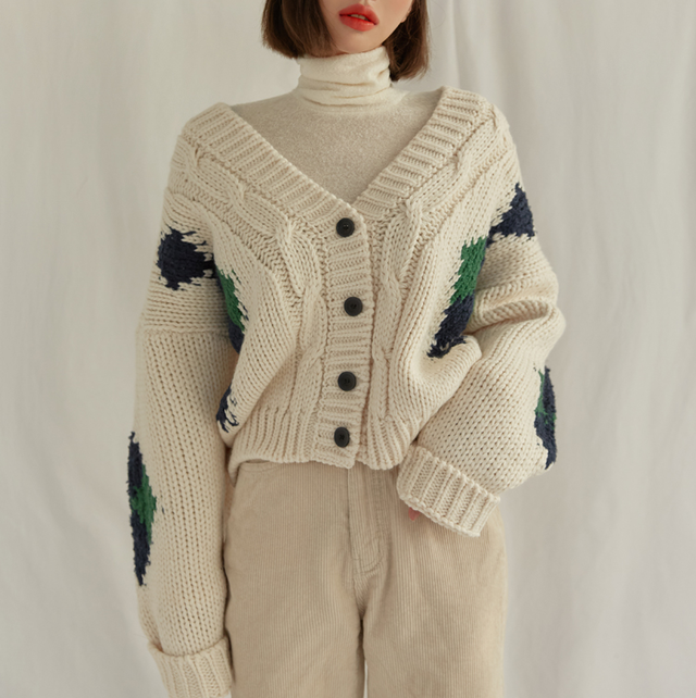 《RED RANKING NO.6》knit RD1838