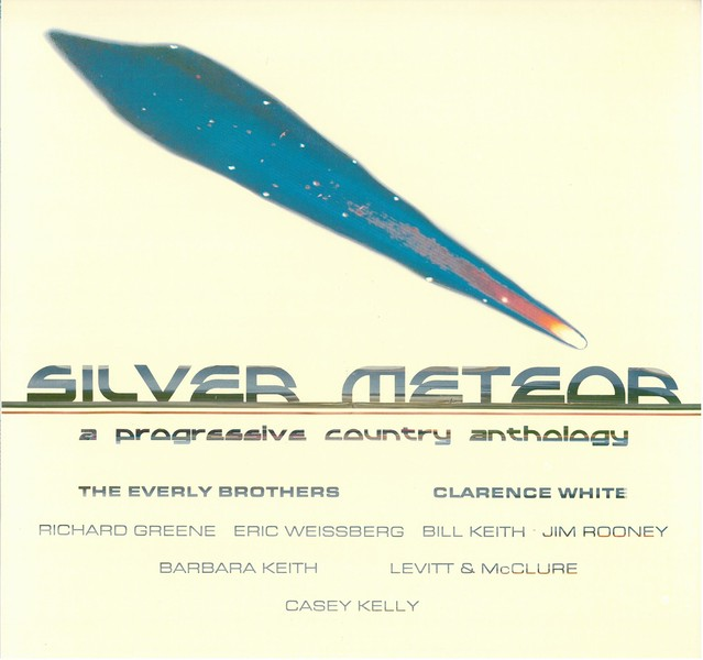 SILVER METEOR / A PROGRESSIVE COUNTRY ANTHOLOGY (LP) USA盤
