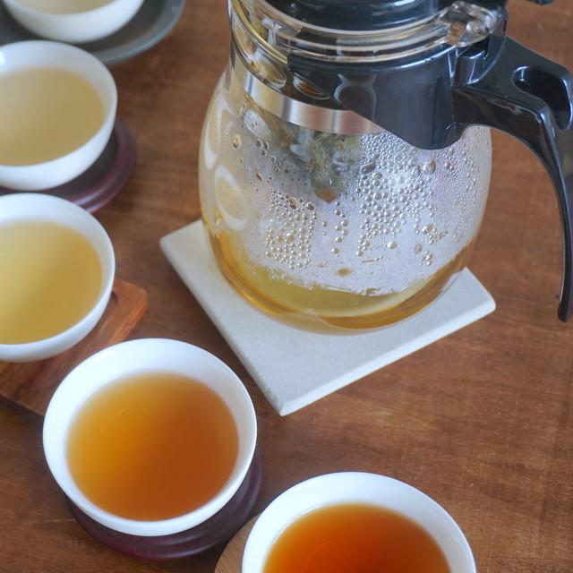 【ティーポット+選べる茶葉付き】お茶の時間をはじめるセット