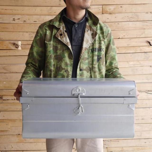 ブリキクラシックトランクボックス Mサイズ