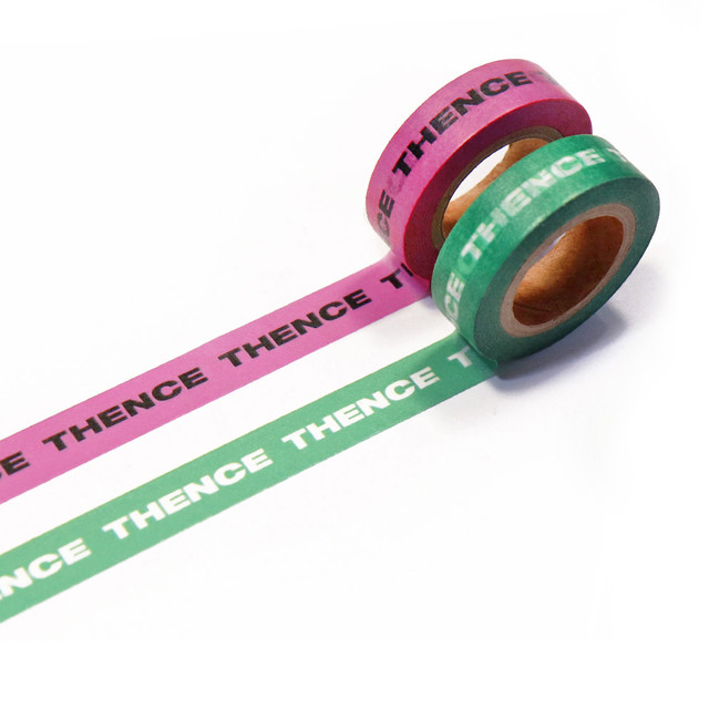 「STD1」マスキングテープ 2色セット(ピンク/グリーン)