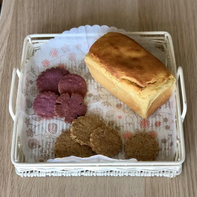 ひよこ豆ブレッドとクッキーL2種のセット