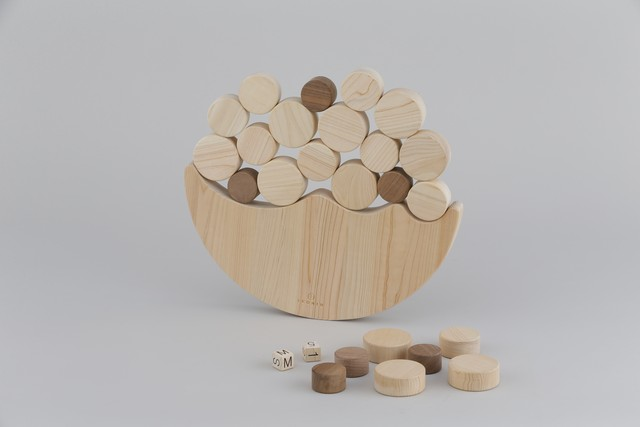 ジャンボなみのりバブル Jumbo Swing Bubbles ※送料無料 | 木のおもちゃ バランスゲーム