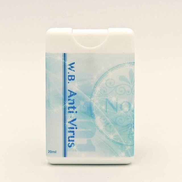 ★風邪・インフルエンザ・花粉症対策★アロマフレグランスミスト「Air CARD No.41」<アンチウィルス 101>(20ml)