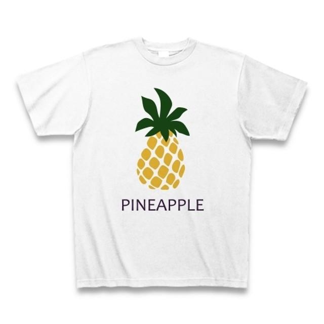 メンズTシャツ☆PINEAPPLE☆ホワイト