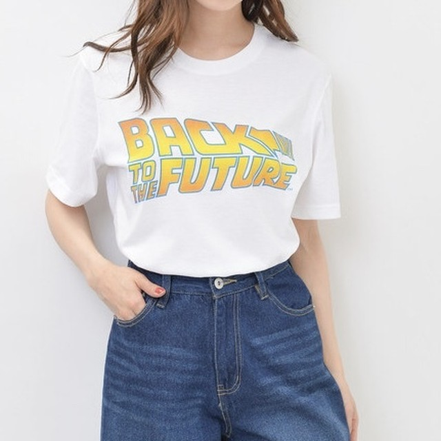 BACK TO THE FUTURE ポスタープリントT ユニセックス