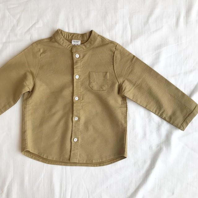 stand collar shirt (2color)