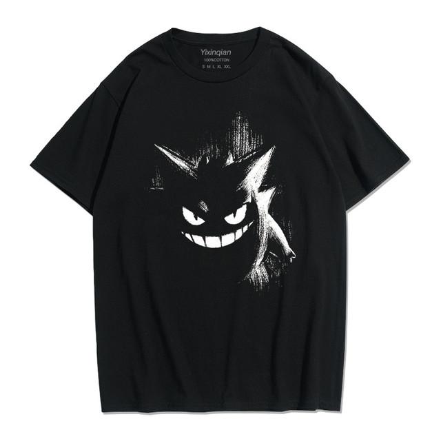 【トップス】半袖悪魔キュートストリート系ファッションプリントTシャツ41932228
