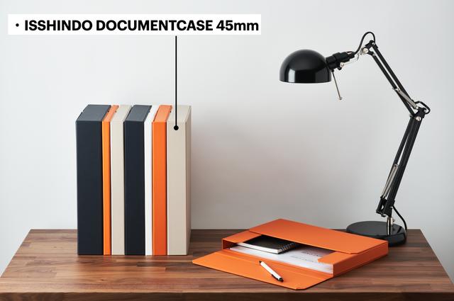 DOCUMENT CASE クロス貼り 45mm