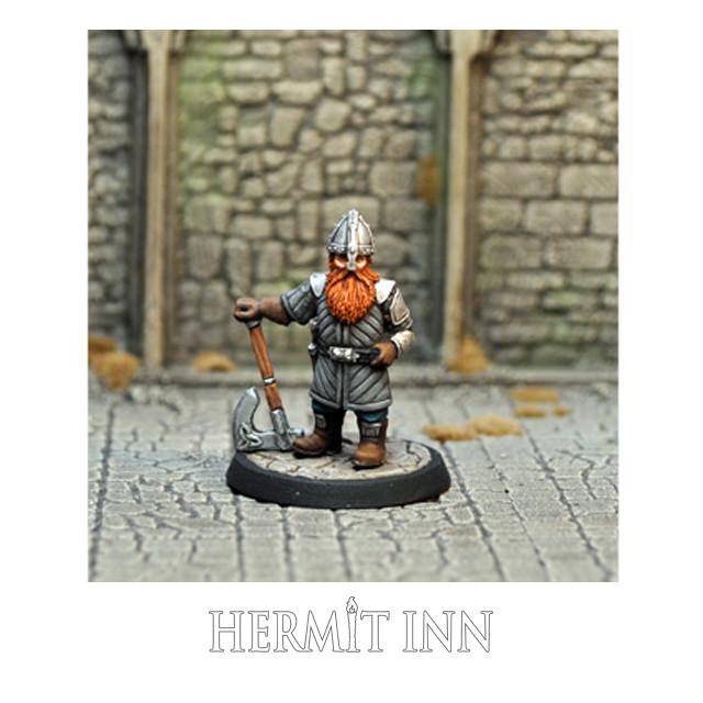 ドワーフの戦士/傭兵 - メイン画像