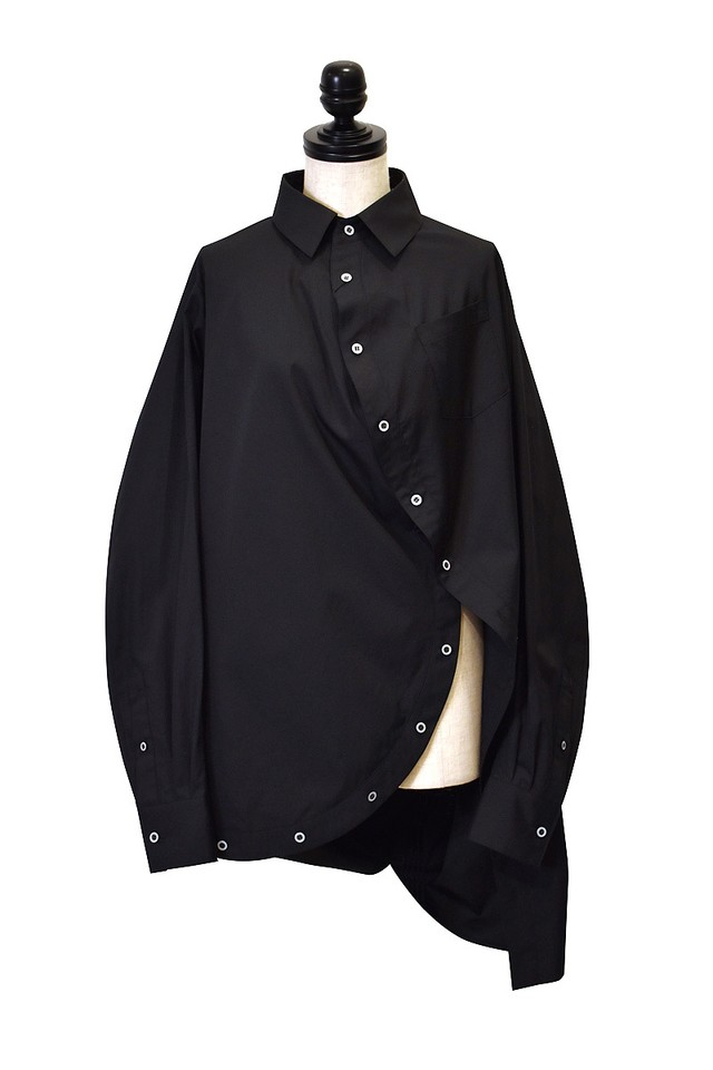 ANSEASON ANREALAGE / BALL SHIRTS / BLACK