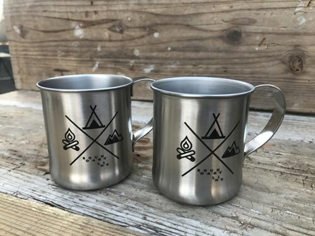efim ( エフィム ) BOUNDARY LINE ステンレス マグカップ BL-ST-MG アウトドア  キャンプ カップ グッズ ドリンク ビール