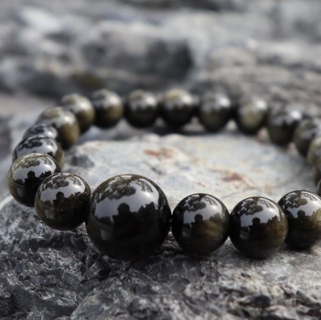 金黒曜石(Obsidian)