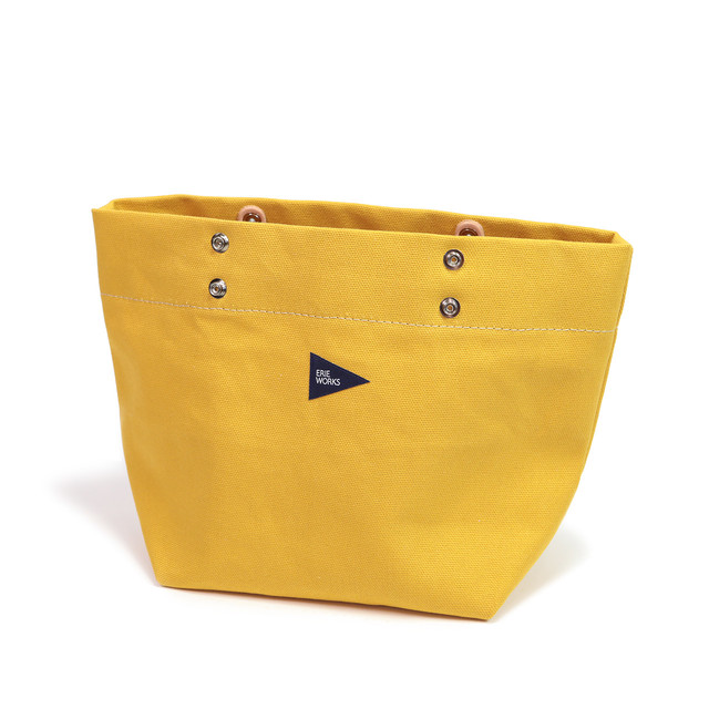 """SWITCHING TOTE(SMALL)""""Michelle(inside)"""" YELLOW / スウィッチングトート(スモール)""""ミッシェル(インサイド)"""" イエロー"""