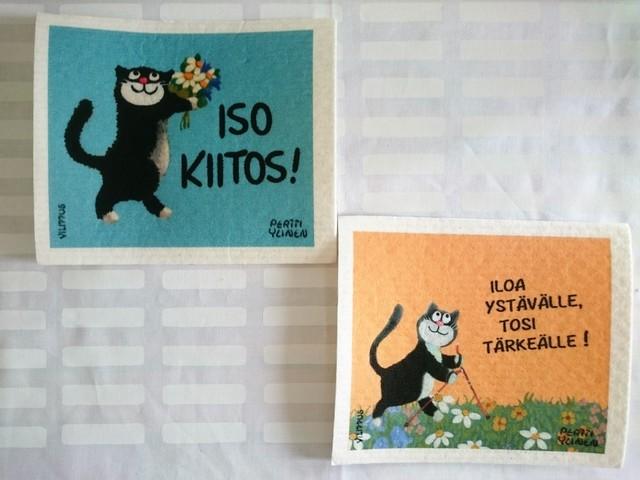 スポンジワイプ / フィンランド / ネコ