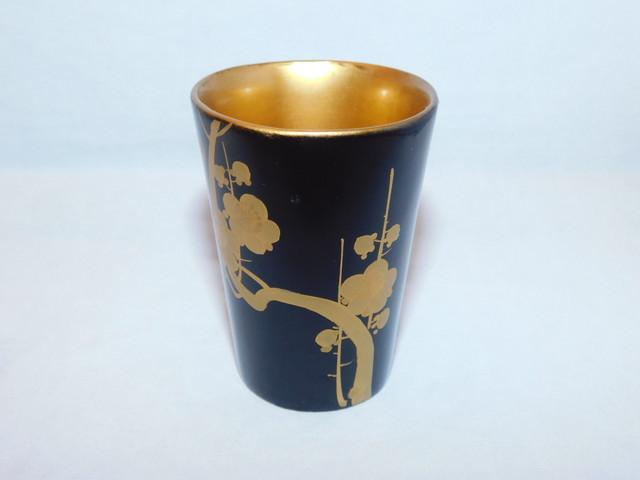漆竹模様盃 Urushi lacquer sake cup(bamboo)