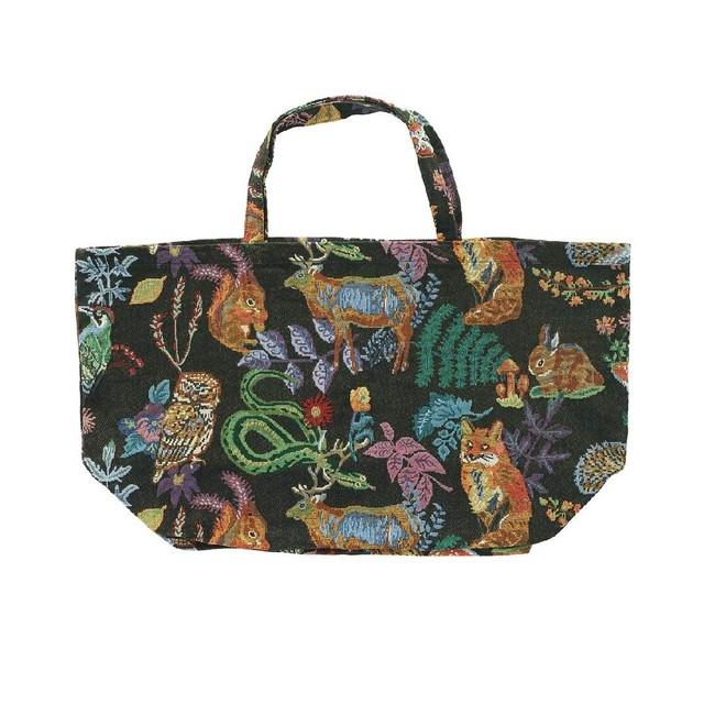 Nathalie Lete Market Bag Forest