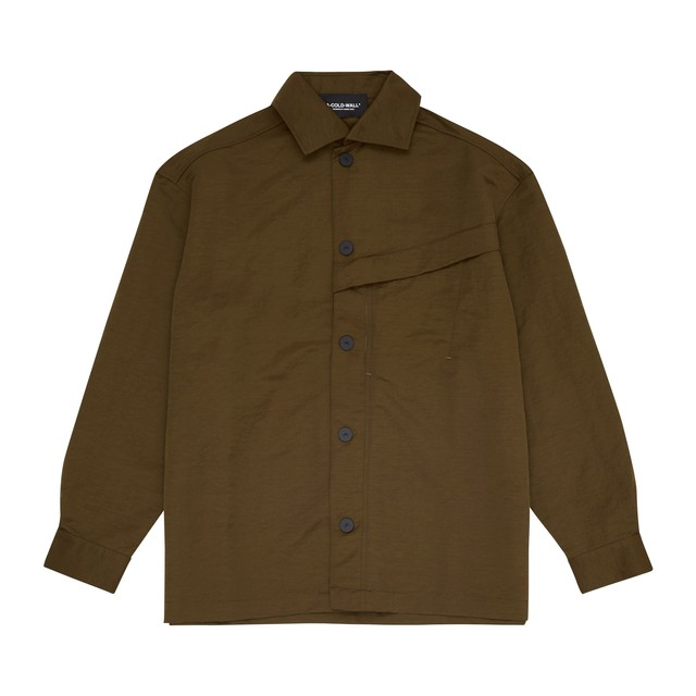 A-COLD-WALL* / OVERSIZE COACH OVERSHIRT