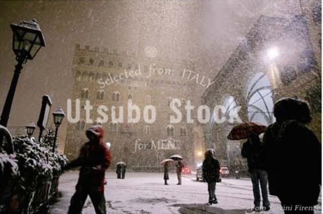 2005年撮影 シニョーリア広場 Piazza della Signoria 雪景色【165200501】