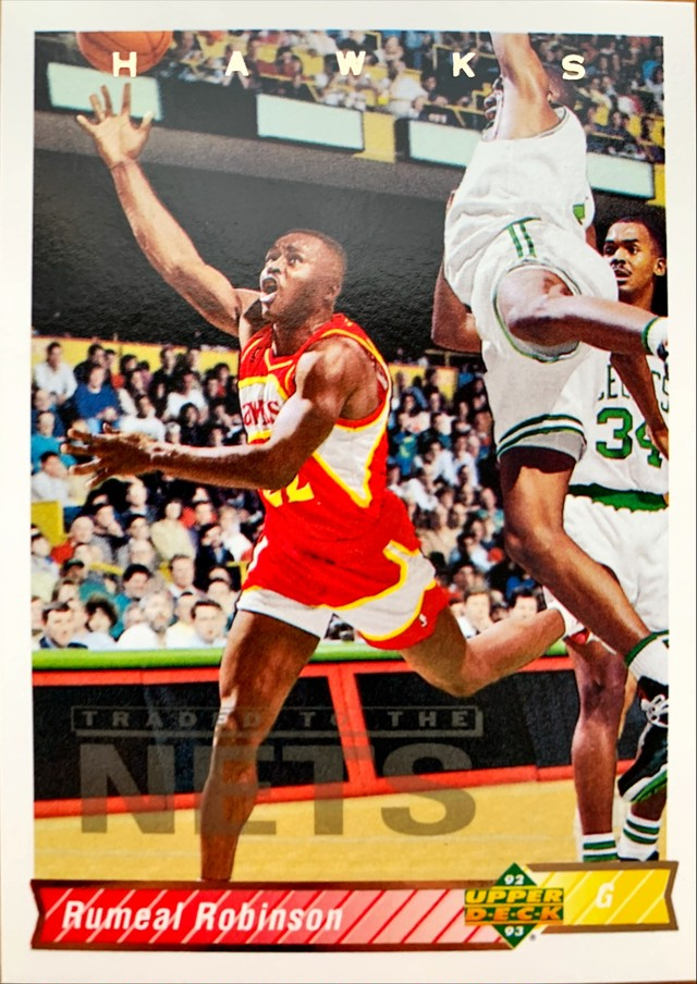 NBAカード 92-93FLEER Larry Nance #37 CAVALIERS