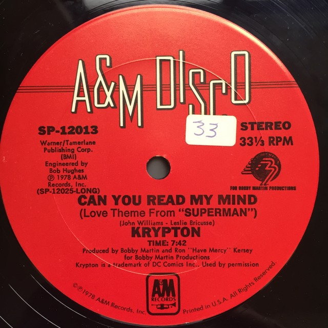 Krypton  – Can You Read My Mind