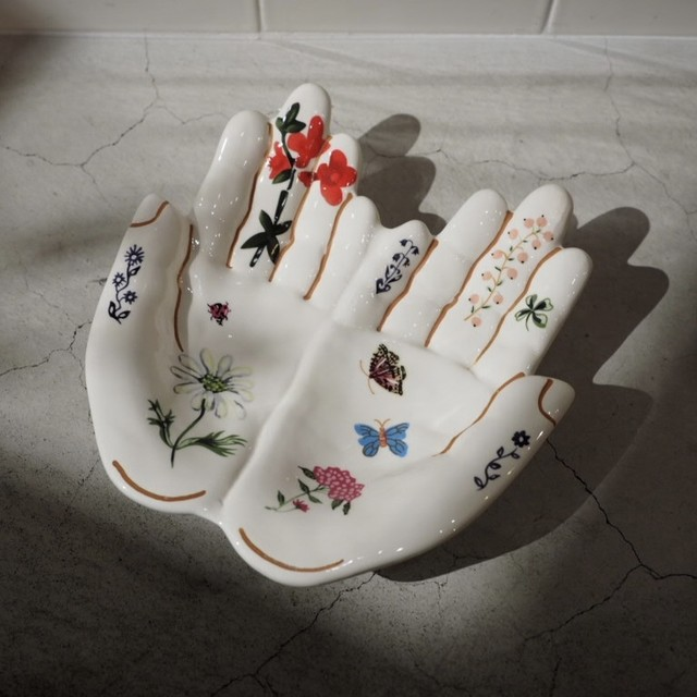 Hand Tray L  Nathalie lete