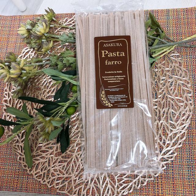 【自然栽培乾燥パスタ】古代麦ファッロ(五分)タリアテッレ