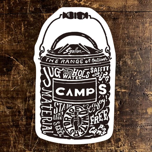 CAMPS STICKER ジャグ