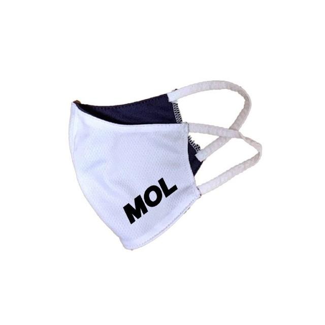 【 数量限定 】MOLマスク (ホワイト)