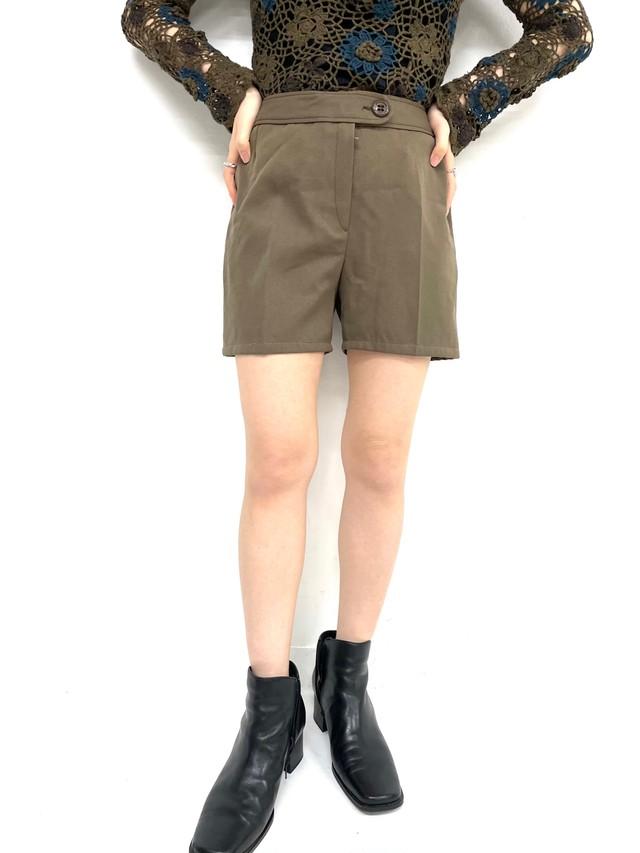 natural brown short pants / 3SSPT02-11