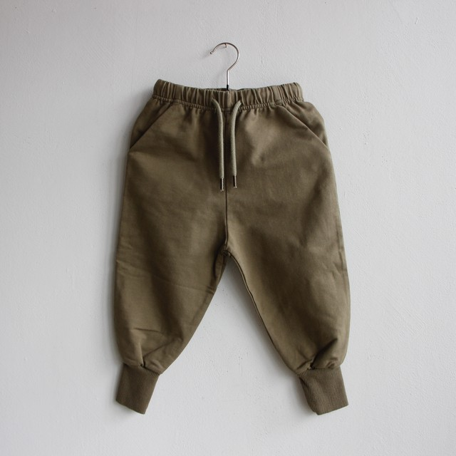 《MINGO. 2021SS》Sweat Pants / Sage Green