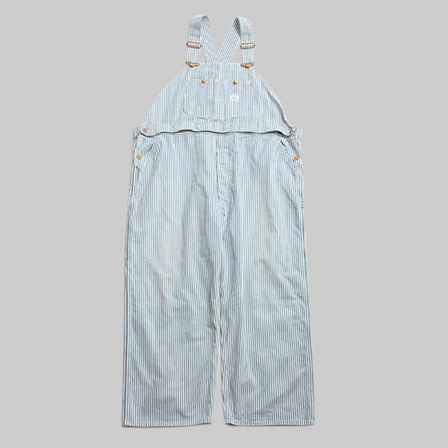 ChahChah×Lee 2way Oversized Overalls-HICKORY