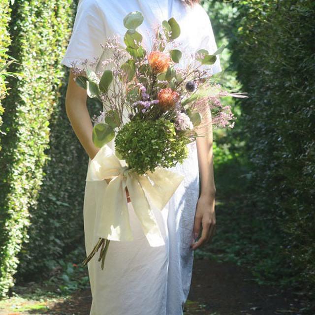 【order】Lsize bouquet set (オーダーメイドブーケ3点セット)