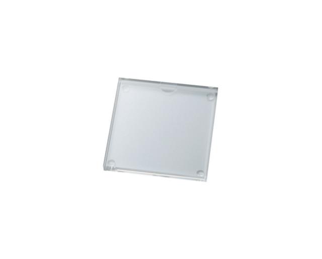 アクリルプライサー100㎜角サイズ15㎜厚 アクリルステージ AR-60587-07