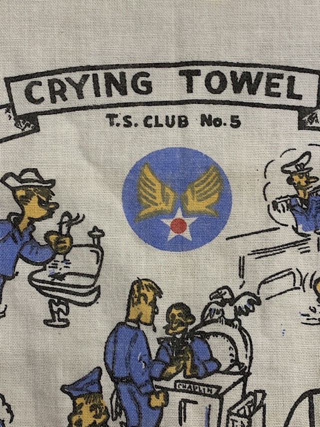 "TOWEL "" CRYING TOWEL  U.S. AIR FORCE """