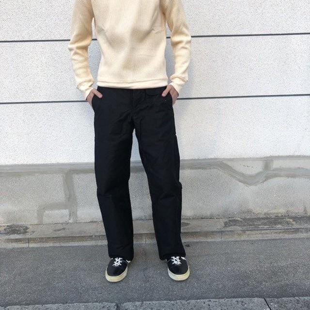 LOLO(ロロ)  モールスキンスイングポケットパンツ ブラック