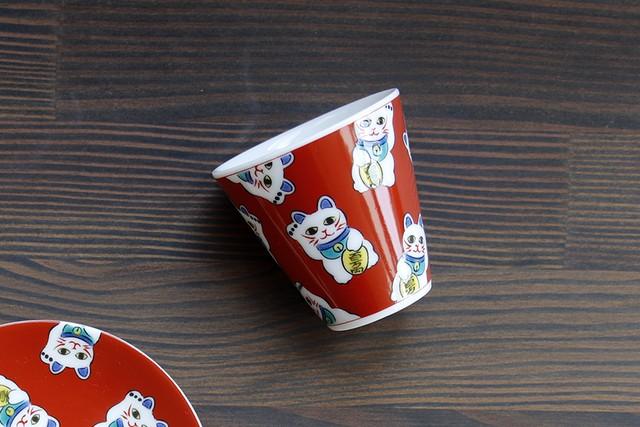 【SP3K20-10】『九谷縁起ちょこコレクション』『招き猫〈MANEKINEKO〉』       *かわいい縁起ちょこ 縁起物 コレクション 小物入れ ギフト 九谷焼