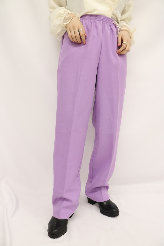 tapered easy pants / 5SSPT08-02