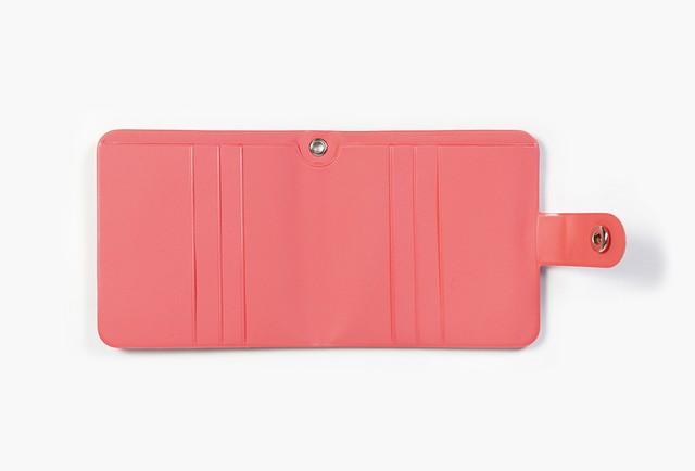 [PT-42] 「CHERRY」 エナメル二つ折り財布