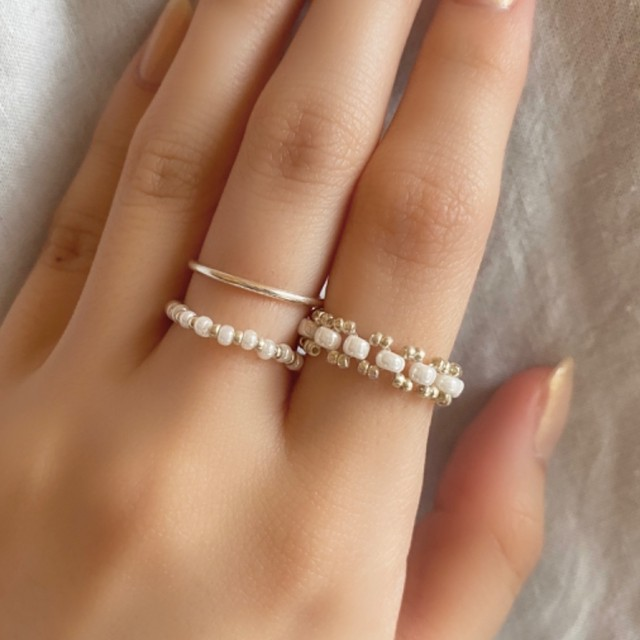 light beads ring