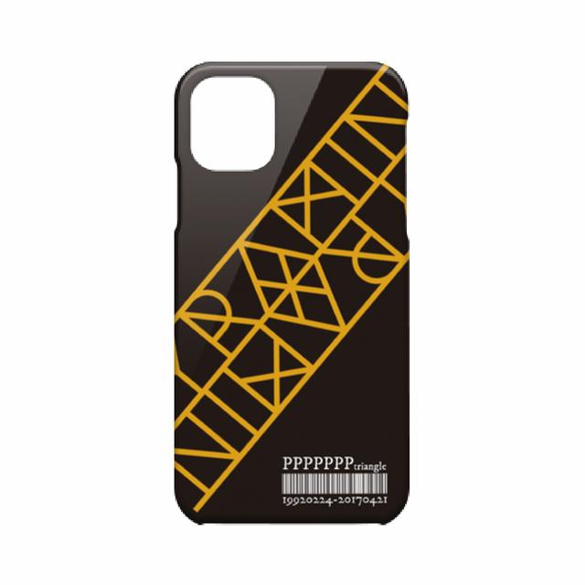 【ピラミ△デザイン】iPhone 11 ハードカバーケース