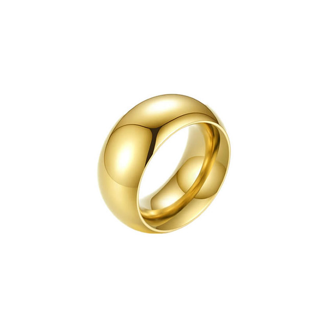 plain wide ring
